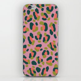 Pink Leopard iPhone Skin