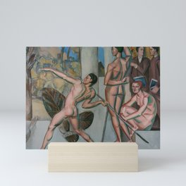 Mens sana in corpore sano by Georg Pauli Mini Art Print