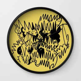 Electric Connection Wall Clock