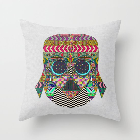 VADER GOT TIRED OF BLACK / makeover Throw Pillow