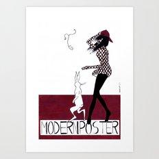 MODERN POSTER Art Print