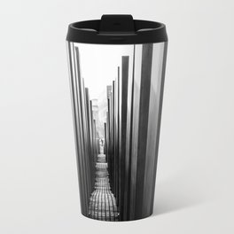 Holocaust memorial Geometry Travel Mug