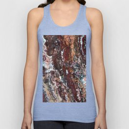 Blood Marble Unisex Tank Top