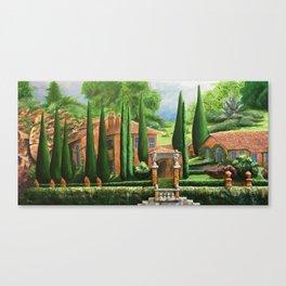 Villa of Lago d' Como Canvas Print