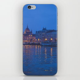 The parliament in Budapest. iPhone Skin