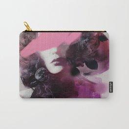 the parfum flower dream portrait woman Carry-All Pouch