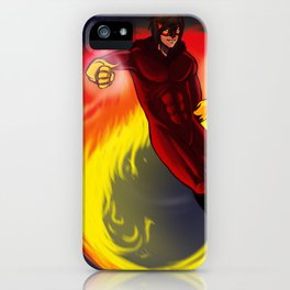fire flight iPhone Case