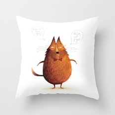 Mr. Nice Guy Throw Pillow