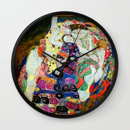 Art Nouveau Ladies - Gustav Klimt Wall Clock