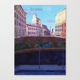 The Morning Walk Canvas Print