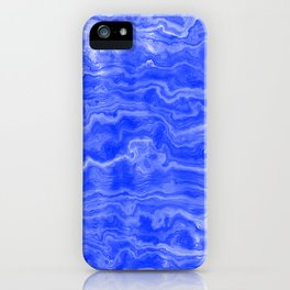 Egyptian Marble, Lapis Blue iPhone Case
