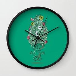 Troll of Nature Wall Clock