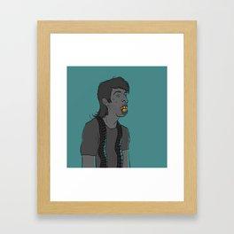 Rainbow Kraut Framed Art Print