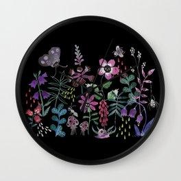 Les fleurs du mal Wall Clock