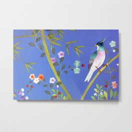the elusive blue of a summer's twilight Metal Print