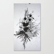 the blotter pad Canvas Print
