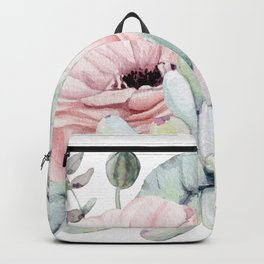 Pretty Succulents 2 by Nature Magick Backpack