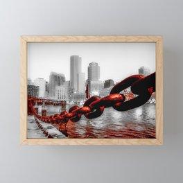 Downtown Framed Mini Art Print