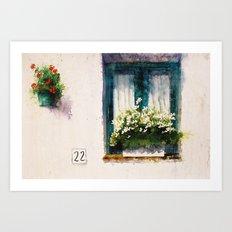Frigiliana Art Print