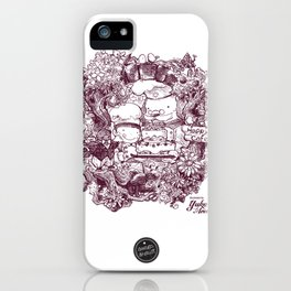 Happy Cafe iPhone Case