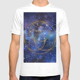 Space mandala T-shirt