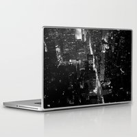 manhattan Laptop & iPad Skins featuring Manhattan by Anne Dante