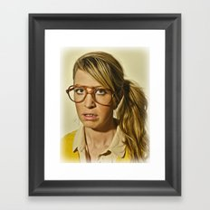 i.am.nerd. :: lizzy c. Framed Art Print