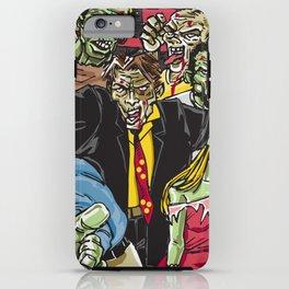 Zombie Zone iPhone Case
