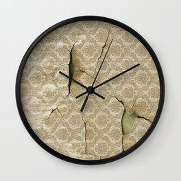 OLD WALLPAPER Wall Clock