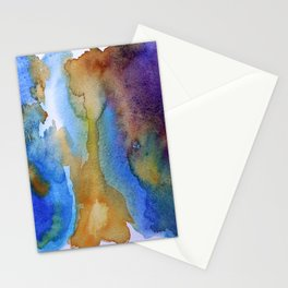 Rain And Fire Stationery Cards