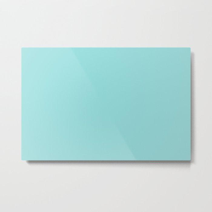 LIMPET SHELL PANTONE 13-4810 Metal Print