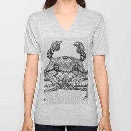 Zen Crab Unisex V-Neck