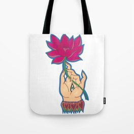 Indian Hand by Shane A. Tote Bag