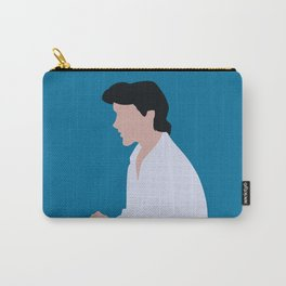 Eric - Blue Carry-All Pouch