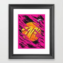 M for Mars  Framed Art Print