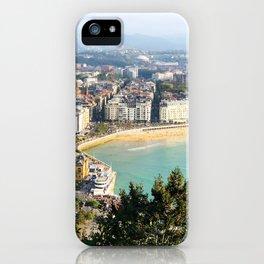 La Concha de San Sebastián iPhone Case