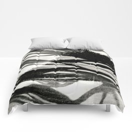 Abstract Trees Comforters