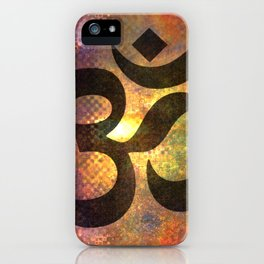 Power of Om iPhone Case