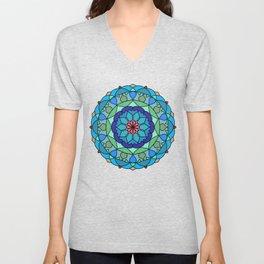 Beautiful decorative mandala Unisex V-Neck