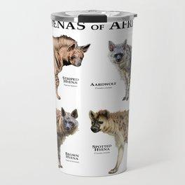 Hyenas of Africa Travel Mug
