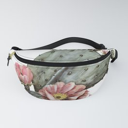 Prickly Pear Cactus Painting Fanny Pack