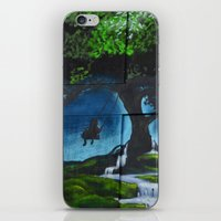 thanos iPhone & iPod Skins featuring street art by Thanos Charisis-Photography