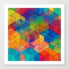 Cuben Intense No.2 Canvas Print
