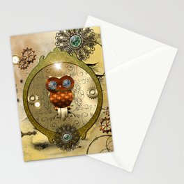 Steampunk Stationery Cards