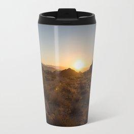 Sunsets at Joshua Tree Travel Mug