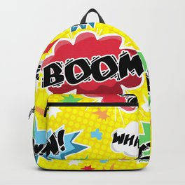 BOOM! POW! CRASH! Backpack