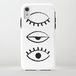 off and on iPhone Case