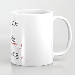 My life needs editing Coffee Mug