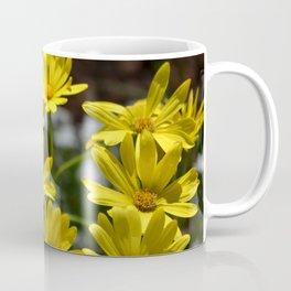 Delightful Little Yellow Daisies Coffee Mug