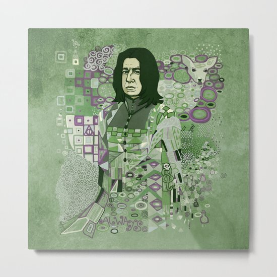 Portrait of a Potions Master Metal Print